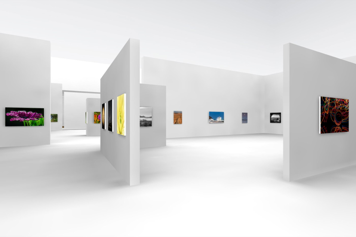 Killarney Camera Club 3D Virtual Exhibition